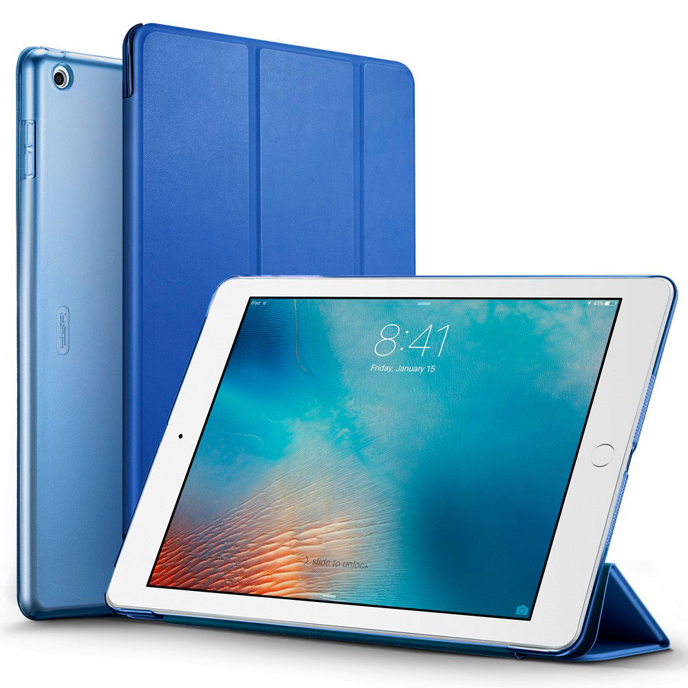 """Купить Кожаный чехол ESR Yippee Color Navy Blue для iPad 9.7"""" (2017   2018)"""