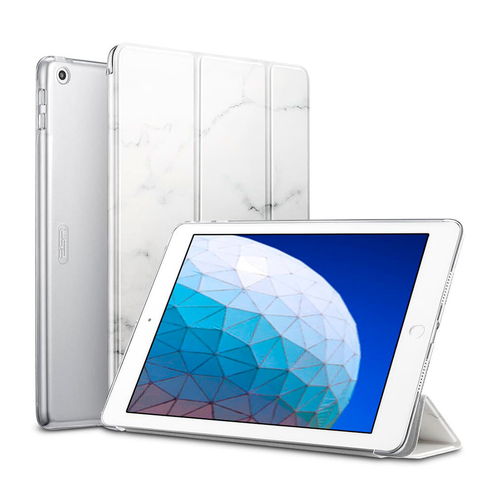 "Чехол-книжка ESR Marble Trifold Case White для iPad Air 3 (2019) | Pro 10.5"""