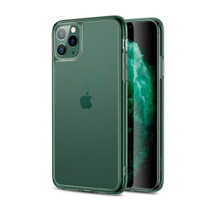 Купить Стеклянный чехол для iPhone 11 Pro ESR Matte Tempered Glass Clear Pine Green