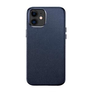 Купить Синий кожаный чехол ESR Metro Leather Blue для iPhone 12 | 12 Pro