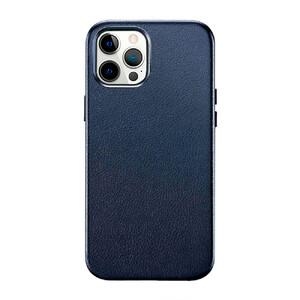 Купить Синий кожаный чехол ESR Metro Leather Blue для iPhone 12 Pro Max