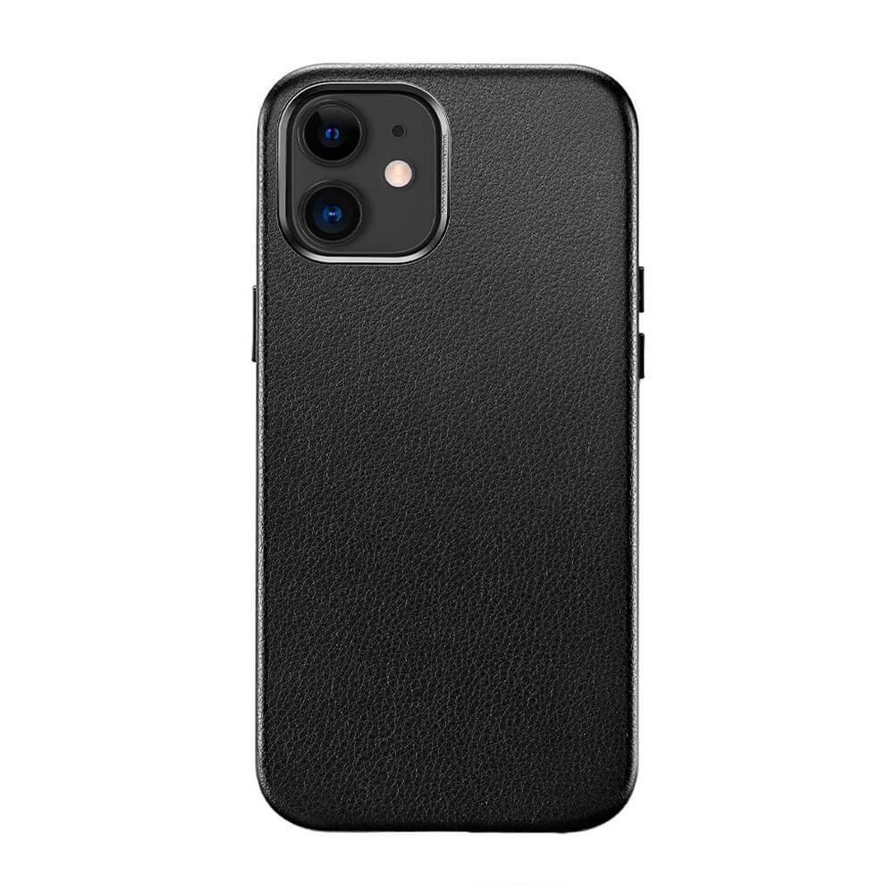 Купить Черный кожаный чехол ESR Metro Leather Black для iPhone 12   12 Pro