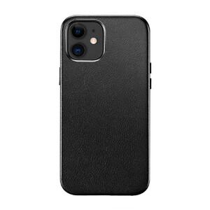 Купить Черный кожаный чехол ESR Metro Leather Black для iPhone 12 | 12 Pro