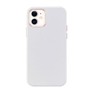 Купить Белый кожаный чехол ESR Metro Leather White для iPhone 12 | 12 Pro
