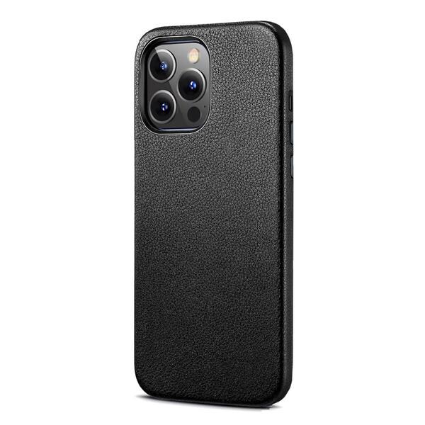 Черный кожаный чехол MagSafe ESR Metro Leather with HaloLock Black для iPhone 13 Pro