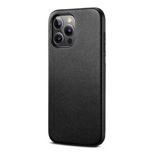 Купить Черный кожаный чехол MagSafe ESR Metro Leather with HaloLock Black для iPhone 13 Pro Max