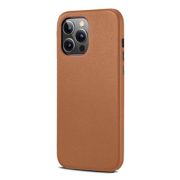 Кожаный чехол MagSafe ESR Metro Leather with HaloLock Brown для iPhone 13 Pro