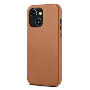Купить Кожаный чехол MagSafe ESR Metro Leather with HaloLock Brown для iPhone 13