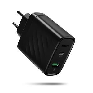 Купить Быстрое зарядное устройство ESR USB/Type C 36W PD QC для iPhone/iPad/MacBook/Samsung