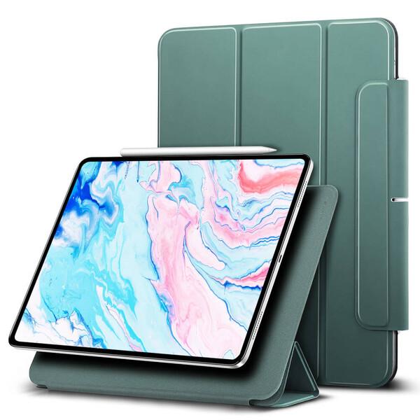 Магнитный чехол-книжка ESR Rebound Magnetic Cactus Green для iPad Air 4 (2020)