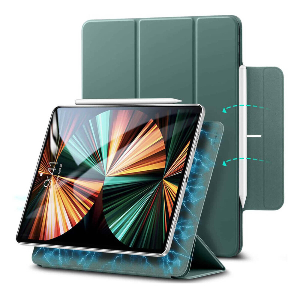 "Чехол-книжка ESR Rebound Magnetic Forest Green для iPad Air 4    Pro 11"" M1 (2021/2020)"
