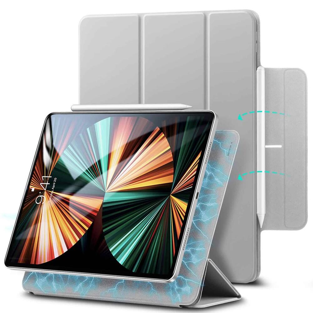 """Магнитный чехол–книжка ESR Rebound Magnetic Gray для iPad Pro 12.9"""" M1 (2021   2020)"""