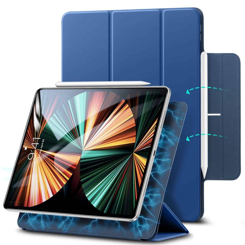 """Магнитный чехол–книжка ESR Rebound Magnetic Navy Blue для iPad Pro 12.9"""" M1 (2021   2020)"""
