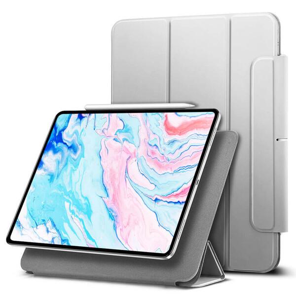 Магнитный чехол-книжка ESR Rebound Magnetic Silver Gray для iPad Air 4 (2020)