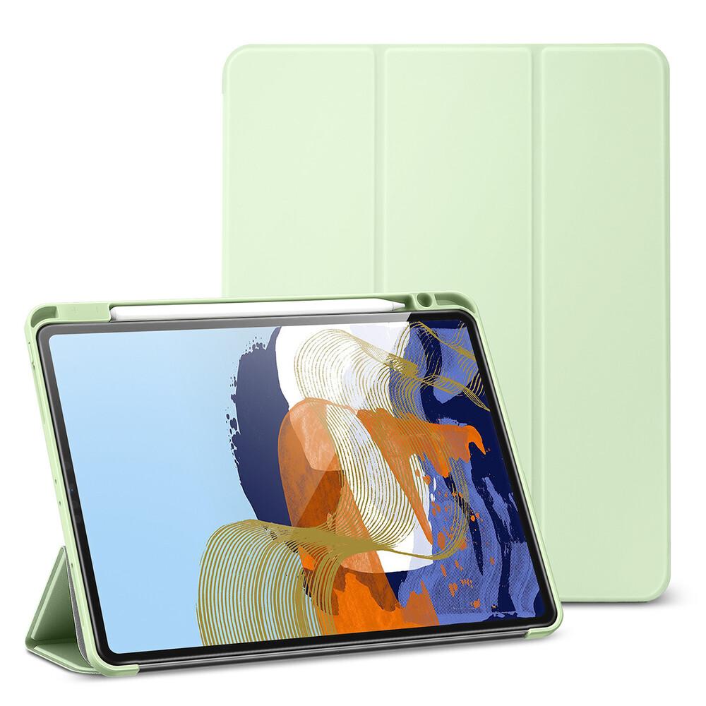 "Чехол-книжка с держателем для Apple Pencil ESR Rebound Pencil Mint Green для iPad Pro 12.9"" M1 (2021)"
