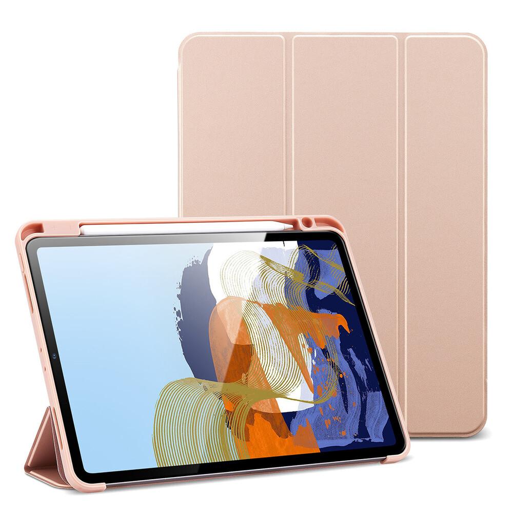 """Чехол-книжка с держателем для Apple Pencil ESR Rebound Pencil Rose Gold для iPad Pro 11"""" M1 (2021)"""