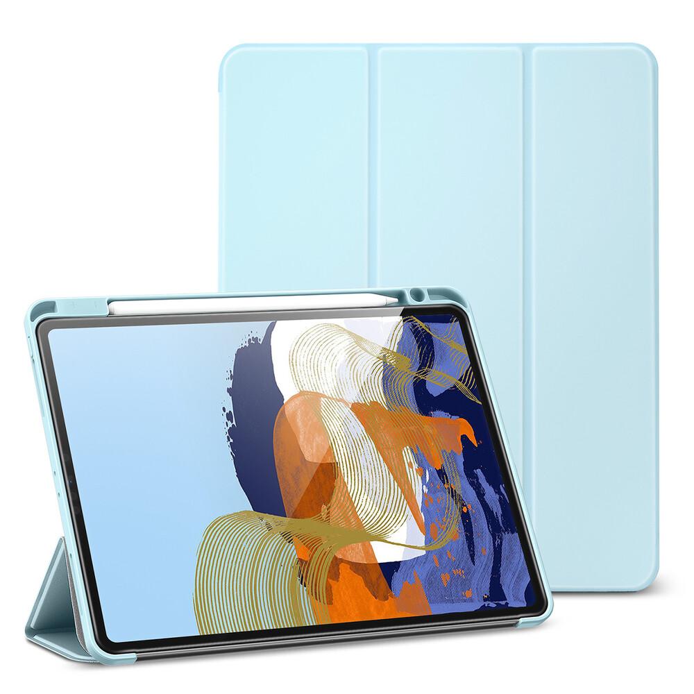 """Чехол-книжка с держателем для Apple Pencil ESR Rebound Pencil Sky Blue для iPad Pro 12.9"""" M1 (2021)"""