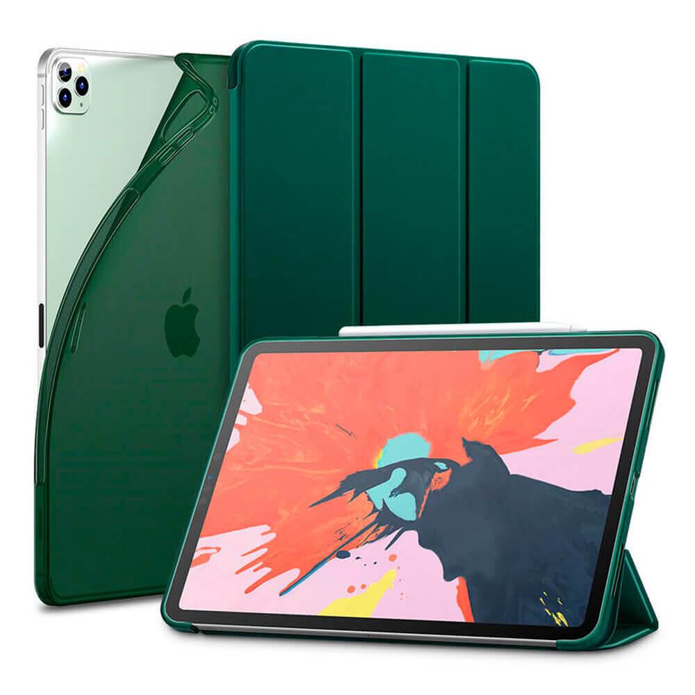 """Чехол-книжка ESR Rebound Slim Pine Green для iPad Pro 12.9"""" (2020)"""