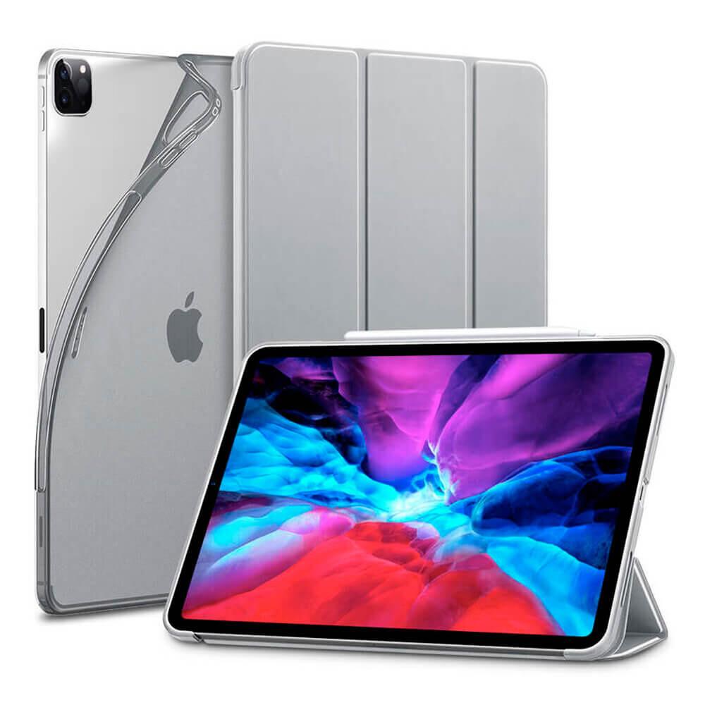 """Чехол-книжка ESR Rebound Slim Silver Gray для iPad Pro 12.9"""" (2020)"""