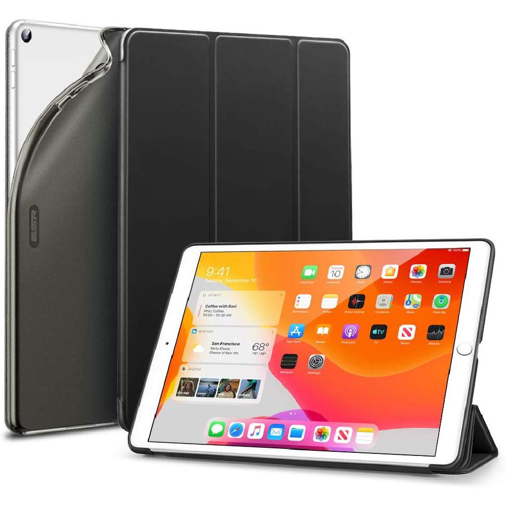 "Купить Чехол-подставка ESR Rebound Slim Smart Case Black для iPad 8 | 7 10.2"" (2020 | 2019)"