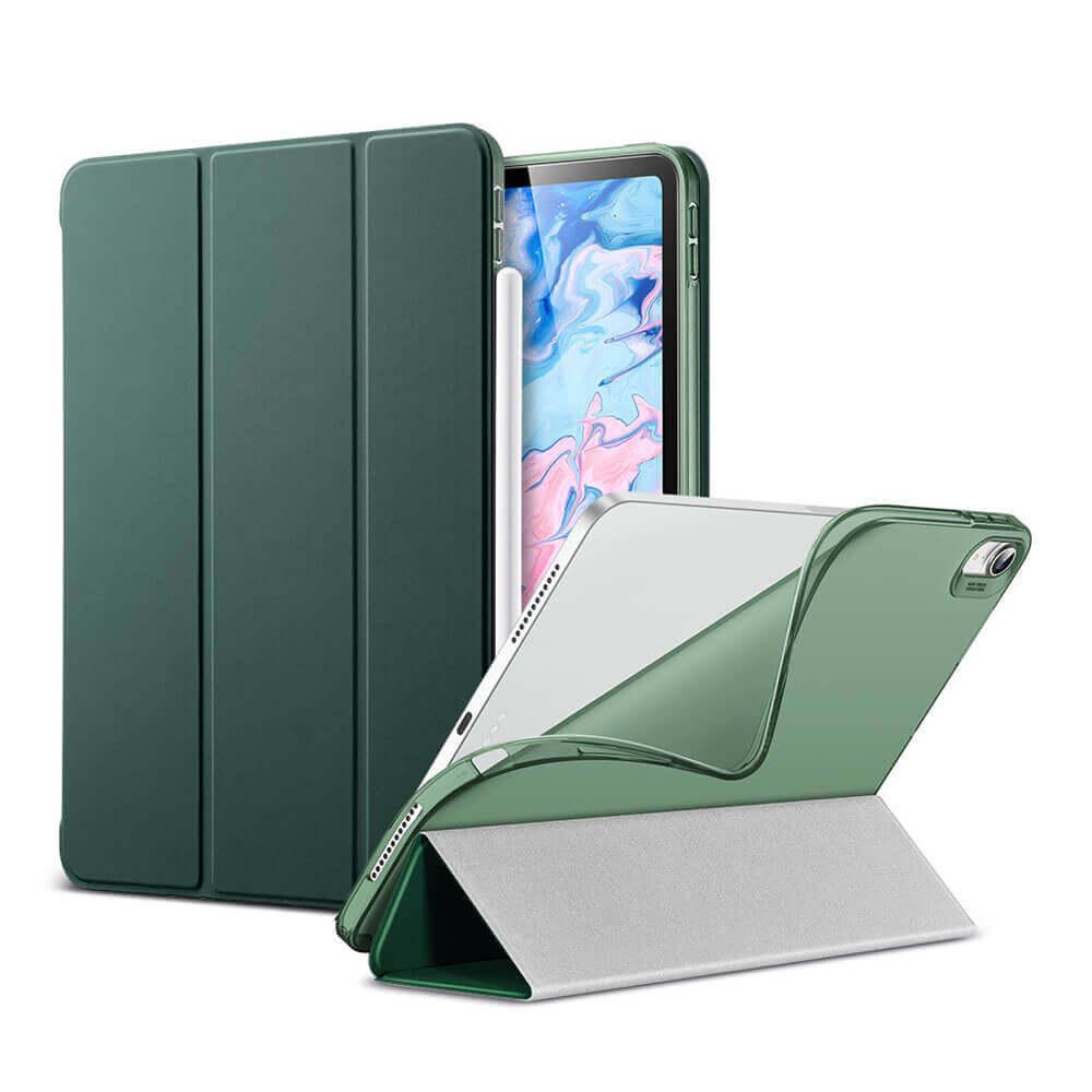 Купить Чехол-книжка ESR Rebound Slim Smart Case Cactus Green для iPad Air 4 (2020)