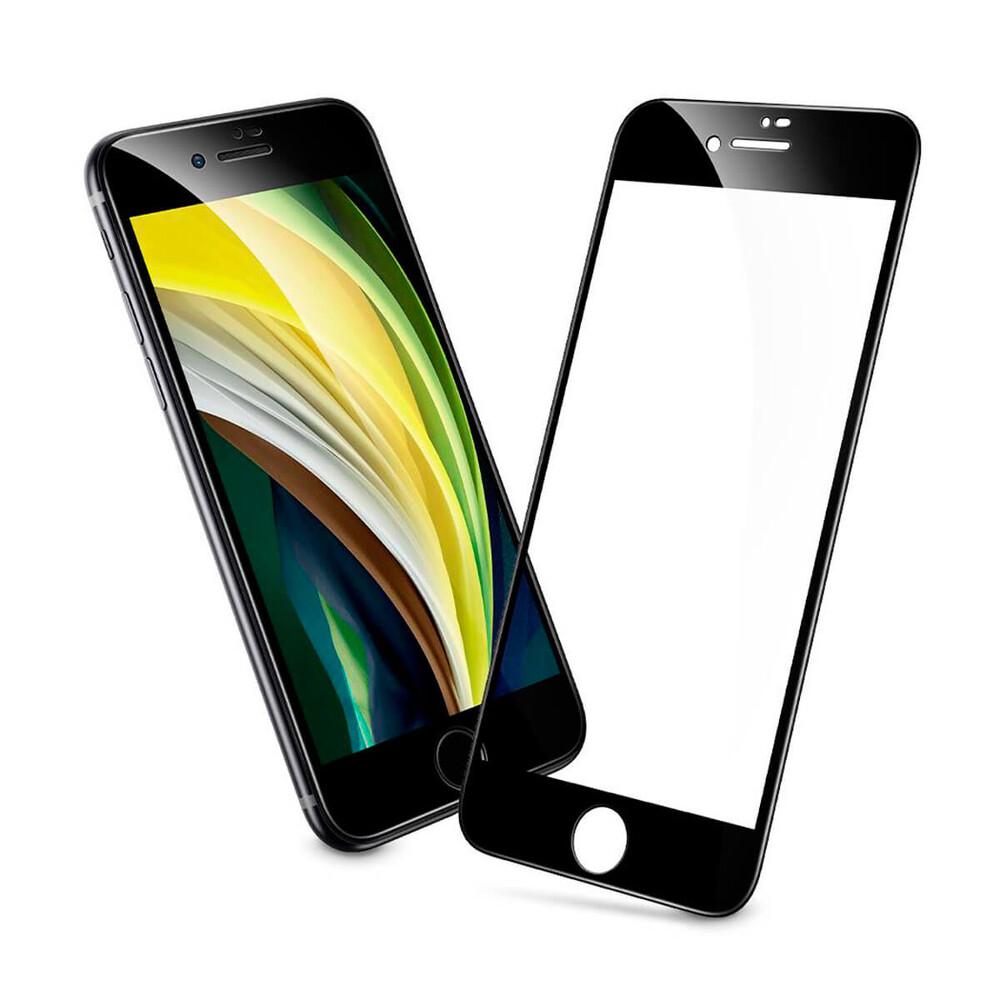 Защитное стекло ESR Screen Shield 3D Black для iPhone 7 | 8 | SE 2 (2020)