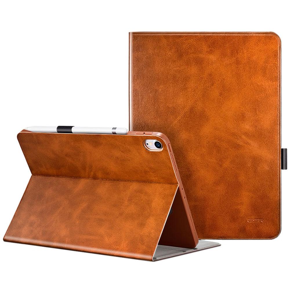 """Купить Чехол с держателем для Apple Pencil ESR Simplicity Premium Folio Brown для iPad Pro 11"""""""