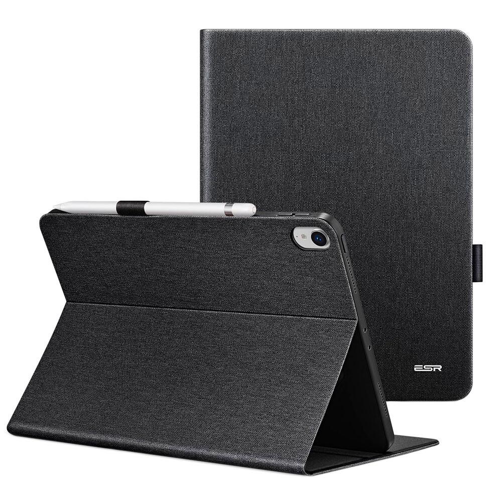 """Чехол с держателем для Apple Pencil ESR Simplicity Premium Folio Black для iPad Pro 11"""""""