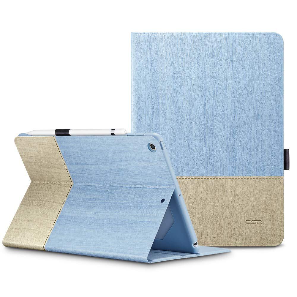 Кожаный чехол ESR Simplicity Premium Folio Sky Blue для iPad mini 4