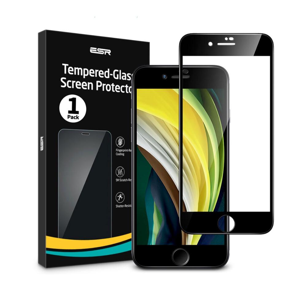 Купить Защитное стекло ESR Tempered Glass Full для iPhone 8 | 7 | 6s | 6 Black