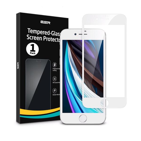 Защитное стекло ESR Tempered Glass Full для iPhone 8 | 7 | 6s | 6 White