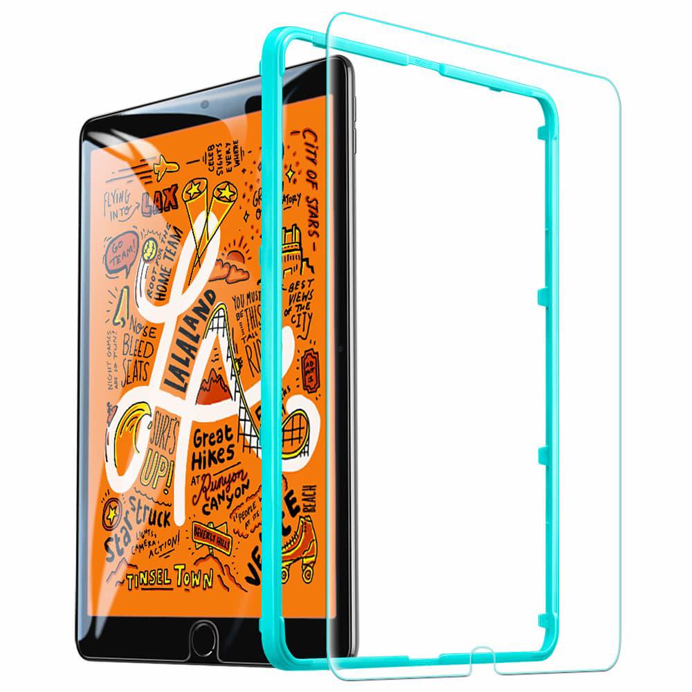 Купить Защитное стекло с рамкой для установки ESR Tempered Glass для iPad mini 5 | 4