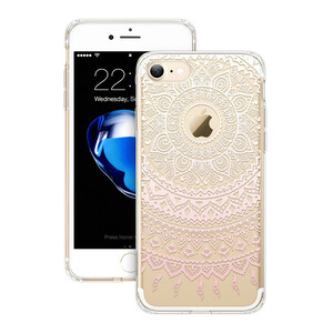 Купить Чехол с узорами ESR Totem Series Pink Manjusaka для iPhone 7