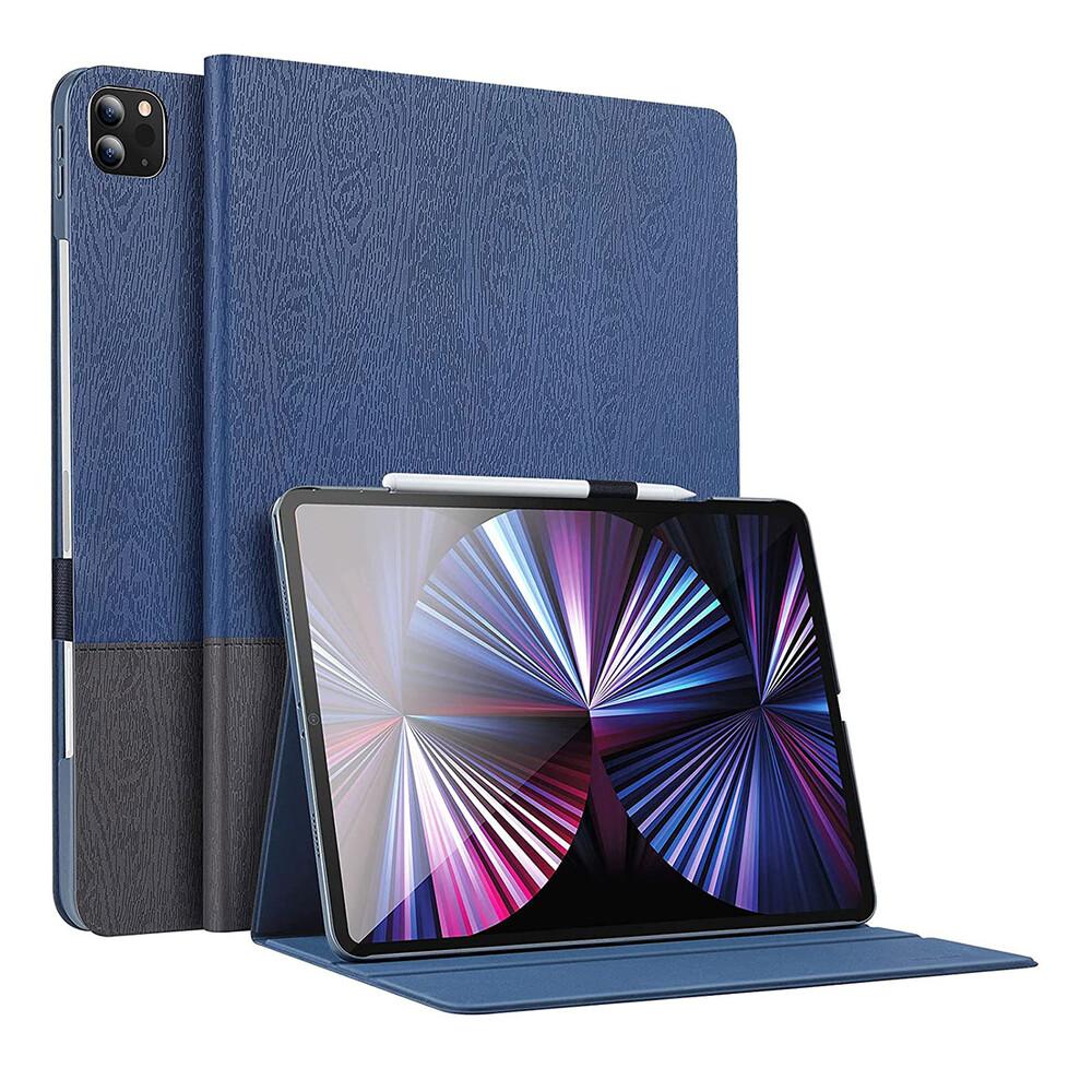 "Чехол-книжка с держателем для Apple Pencil ESR Urban Premium Blue Gray для iPad Pro 11"" M1 (2021)"