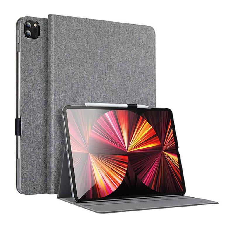 "Чехол-книжка с держателем для Apple Pencil ESR Urban Premium Gray для iPad Pro 11"" M1 (2021)"