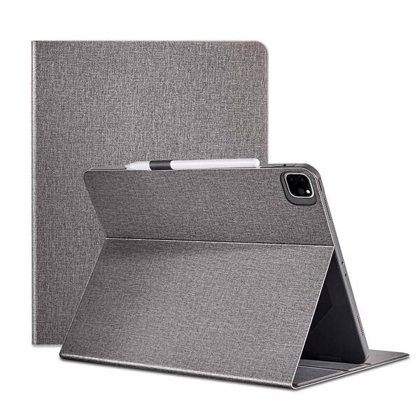 "Чехол-книжка с держателем для Apple Pencil ESR Urban Premium Gray для iPad Pro 12.9"" M1 (2021)"