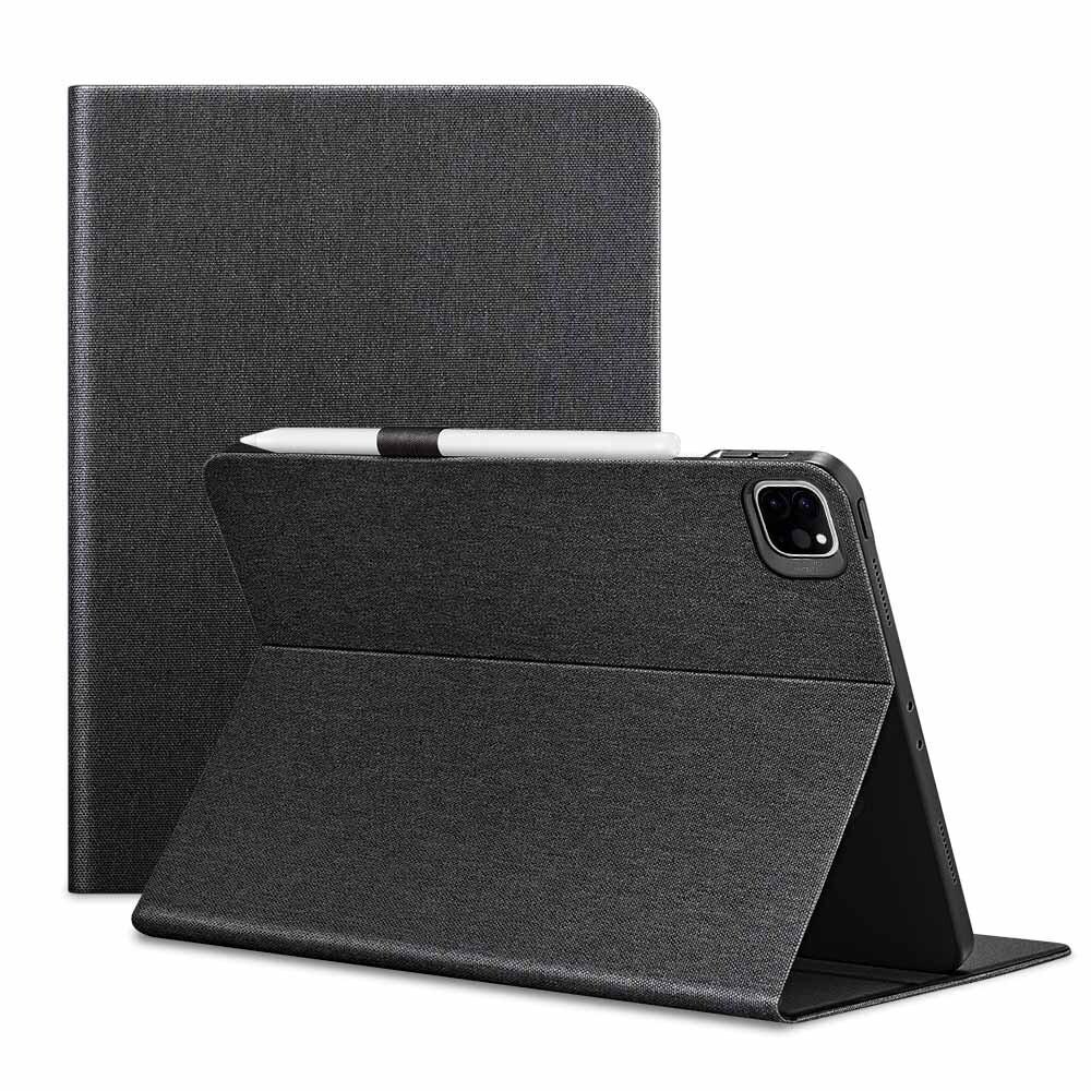"Чехол-книжка с держателем для Apple Pencil ESR Urban Premium Black для iPad Pro 12.9"" M1 (2021)"