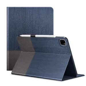 """Купить Чехол-книжка с держателем для Apple Pencil ESR Urban Premium Blue Gray для iPad Pro 12.9"""" M1 (2021)"""