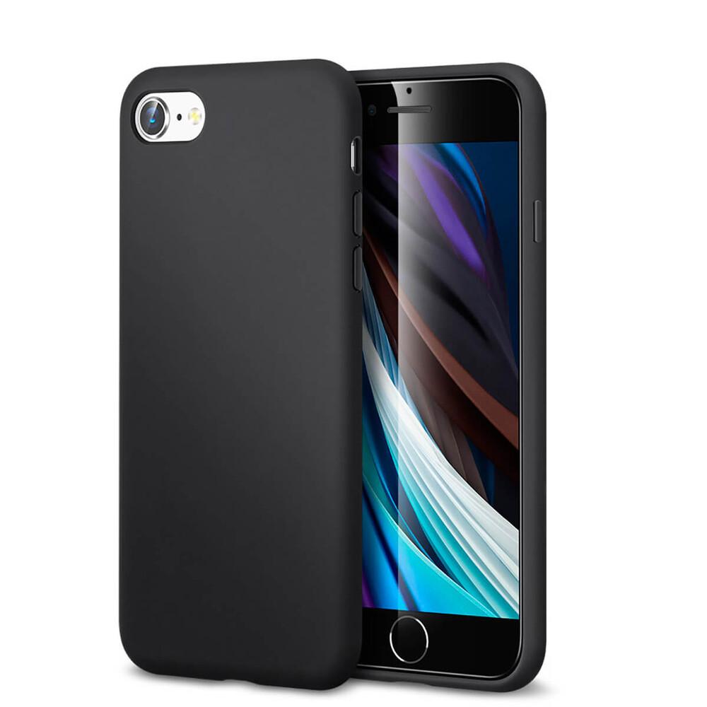 Купить Черный силиконовый чехол ESR Yippee Color Black для iPhone 7 | 8 | SE 2 (2020)