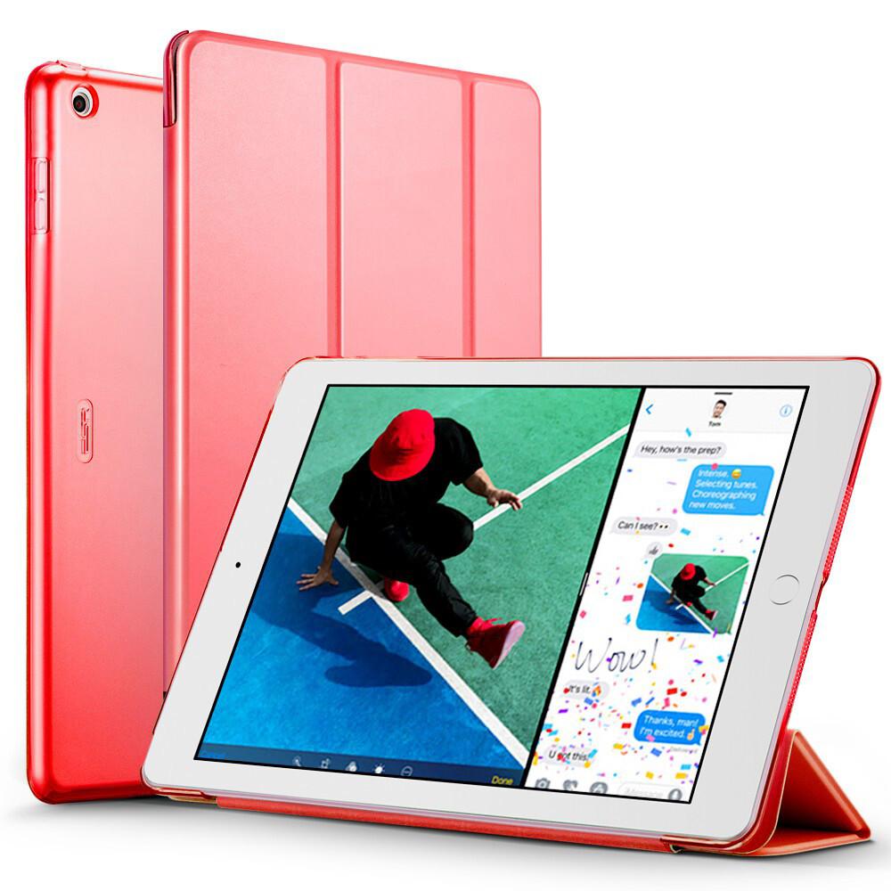 "Кожаный чехол ESR Yippee Color Red для iPad 9.7"" (2017   2018)"
