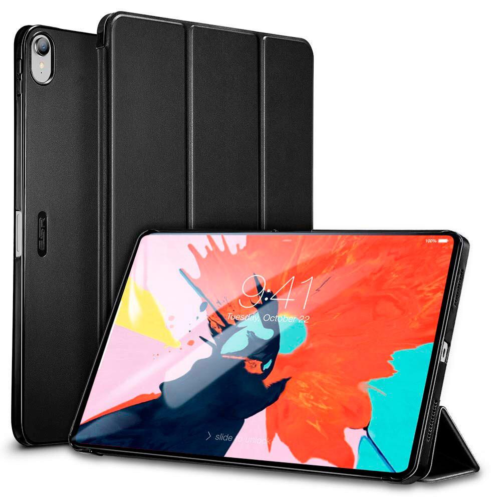 "Кожаный чехол ESR Yippee Color Trifold Smart Case Black для iPad Pro 11"" (2018)"