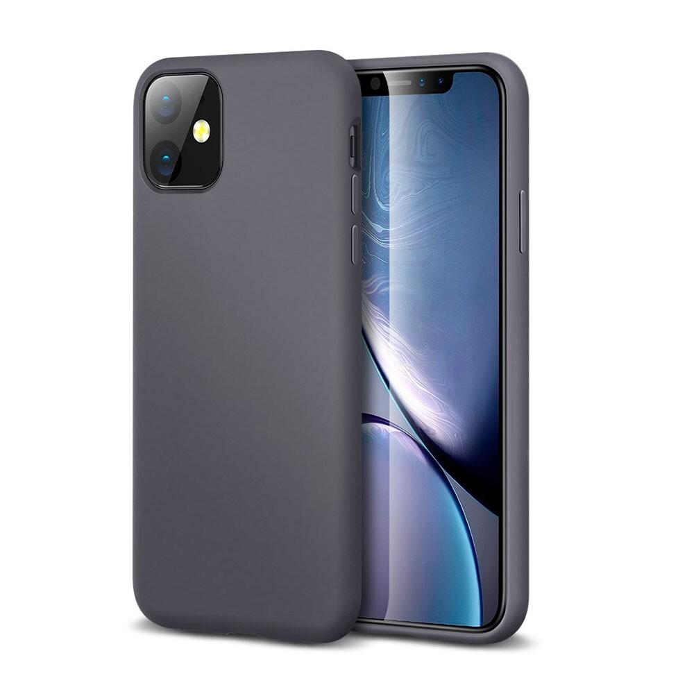 Серый силиконовый чехол ESR Yippee Color Gray для iPhone 11