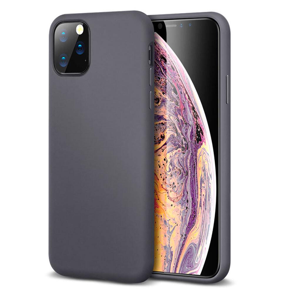 Серый силиконовый чехол ESR Yippee Color Gray для iPhone 11 Pro Max