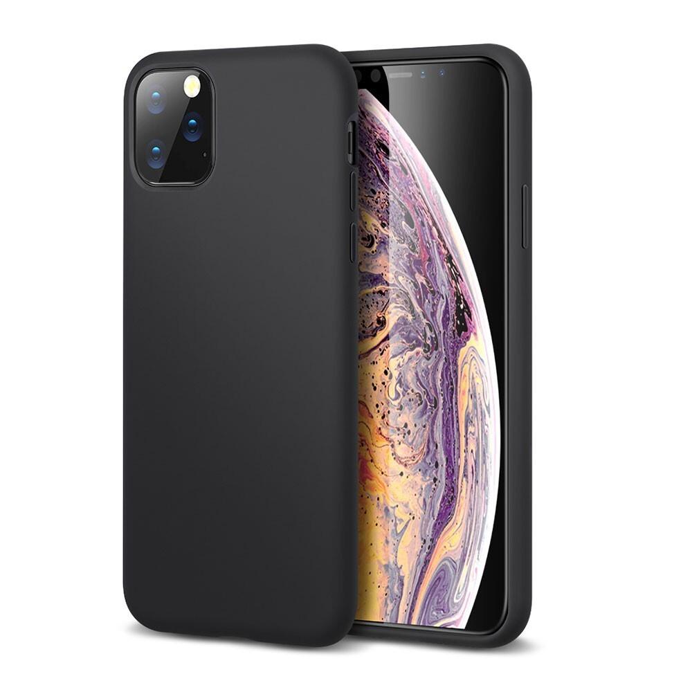 Черный силиконовый чехол ESR Yippee Color Black для iPhone 11 Pro