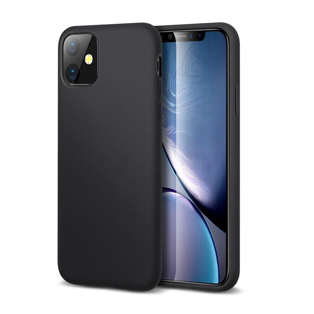 Черный силиконовый чехол ESR Yippee Color Black для iPhone 11
