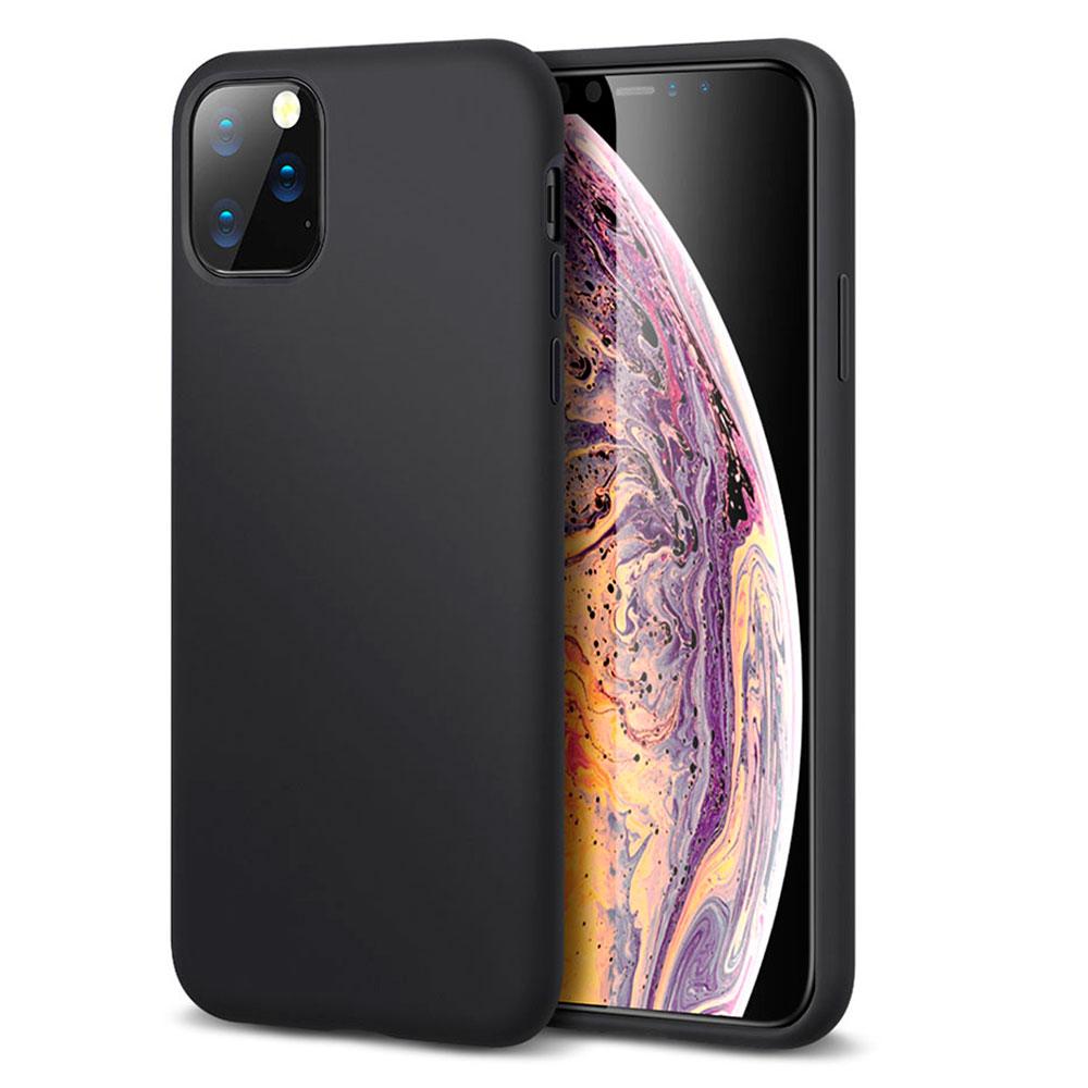 Купить Черный силиконовый чехол ESR Yippee Color Black для iPhone 11 Pro Max