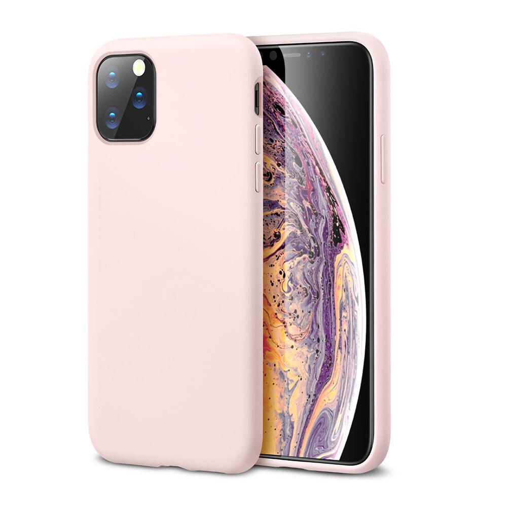 Розовый силиконовый чехол ESR Yippee Color Pink для iPhone 11 Pro