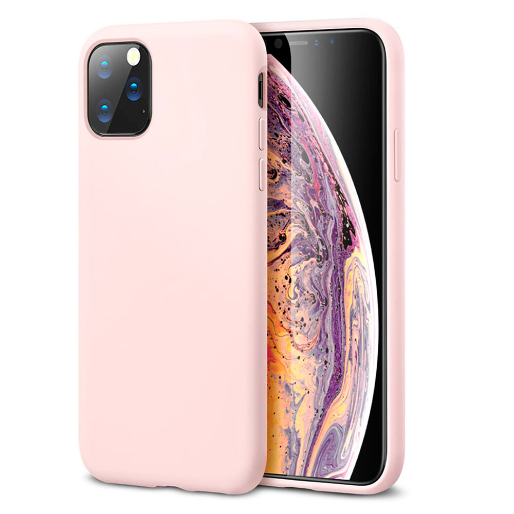 Розовый силиконовый чехол ESR Yippee Color Pink для iPhone 11 Pro Max