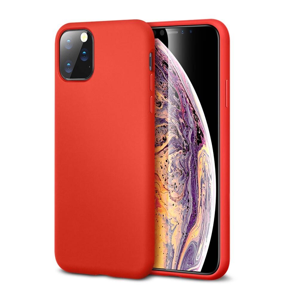 Красный силиконовый чехол ESR Yippee Color Red для iPhone 11 Pro