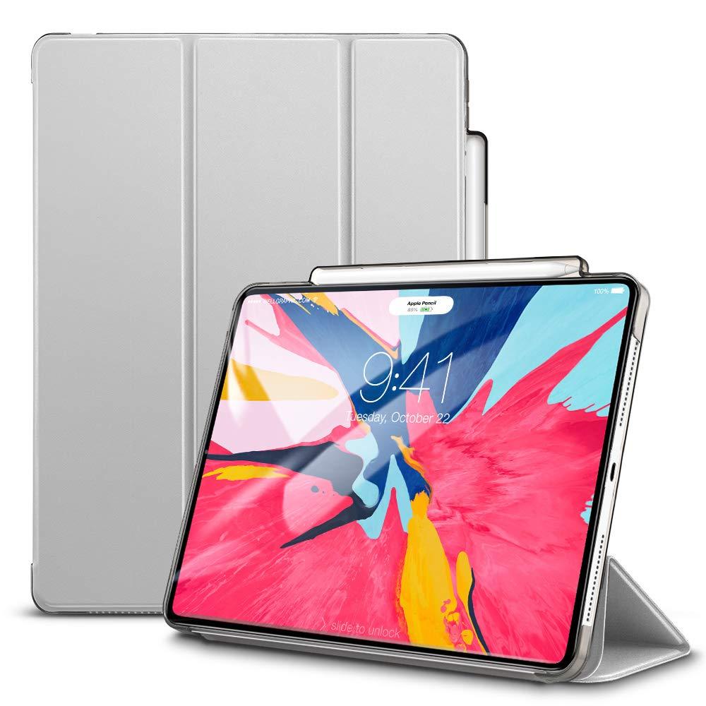 Купить Чехол-подставка ESR Yippee Pencil Holder Silver Gray для iPad Pro 12.9 (2018)